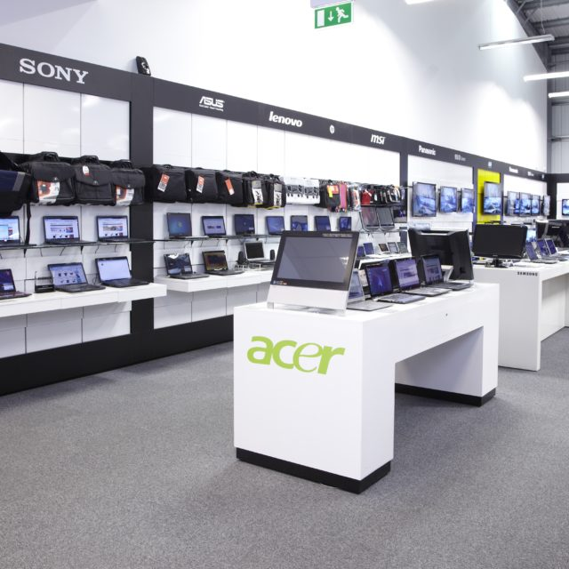 Electrical Retail Shop fits | Replan - Experts in Shop Design
