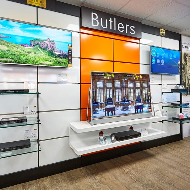 Electrical Retail Shop fits   Replan - Experts in Shop Design