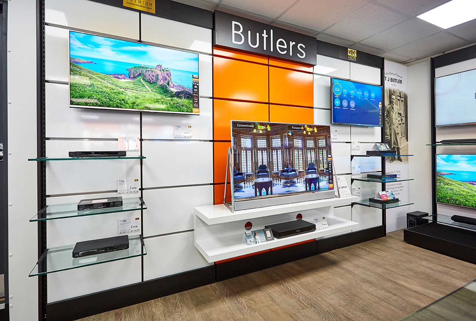 Butlers Electrical - Shotton Store Refit Case Study   Replan - The
